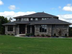 Prairie Home Style wayne indiana custom home builder prairie style home in new haven