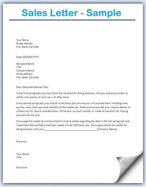 image result  sample sales letters  prospects sales