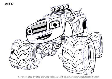 blaze monster trucks coloring pages blaze and monster machines crusher coloring pages blaze