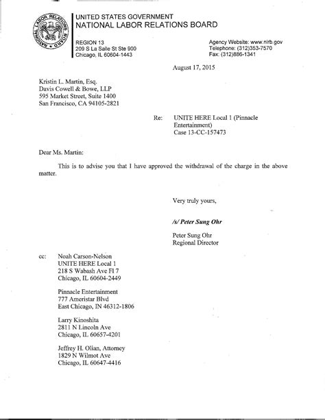 Withdrawal Letter From Doctor Indiana Gaming Alert Letters With Larry