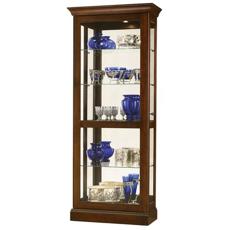howard miller lighted curio cabinet hanging curio display cabinet studio design gallery