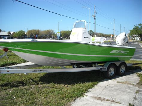 epic boat dealers florida 2016 new epic 22 sport console bay boat for sale largo