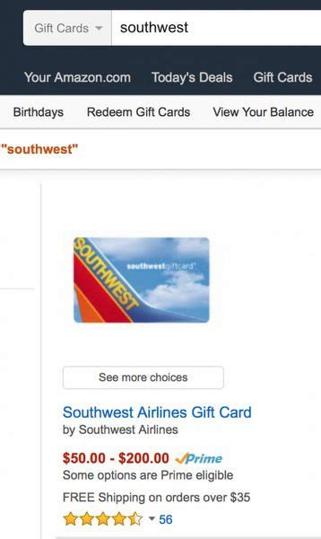 Turn Gift Cards Into Cash Near Me - save 10 on any southwest flight with this card million mile secrets