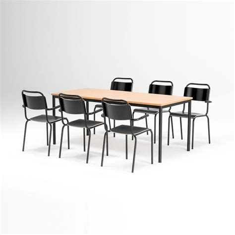 Deal Table by Canteen Furniture Package Deal Table 6 Chairs Aj Products