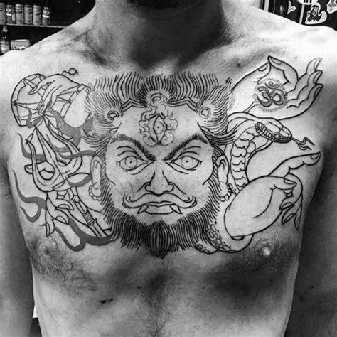 shiva tattoos for men 60 shiva designs for hinduism ink ideas