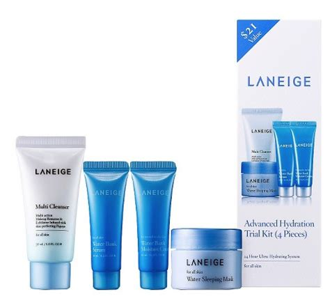 Laneige Multi Cleanser Kit 30 Ml laneige advanced hydration skincare review giveaway