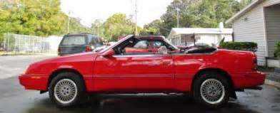 1992 Chrysler Sebring 1992 Sebring Le Baron Gtc Convertible Original Survivor