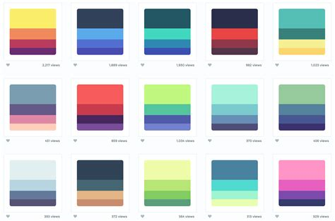 Popular Color Palettes | 5 amazing sites i use to generate beautiful color palettes