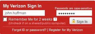 verizon home login verizon email account setup mobile musings