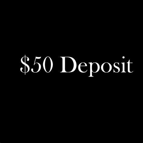 50 tattoo deposit