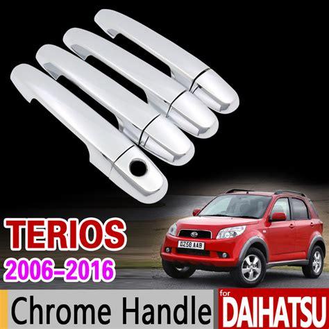 Handle Terios for daihatsu terios bego 2006 2016 chrome door handle cover for toyota eco perodua