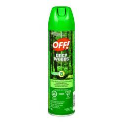buy off insect repellent deep woods 230 g from value valet