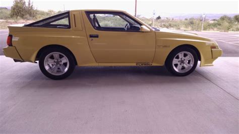 chrysler conquest yellow chrysler conquest tsi mitsubishi starion for sale in