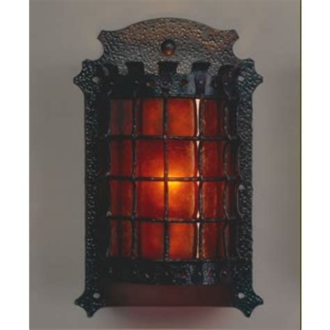 Mica L Company by Lf205 Manor Sconce Mica L Company Vintage Iron Lighting