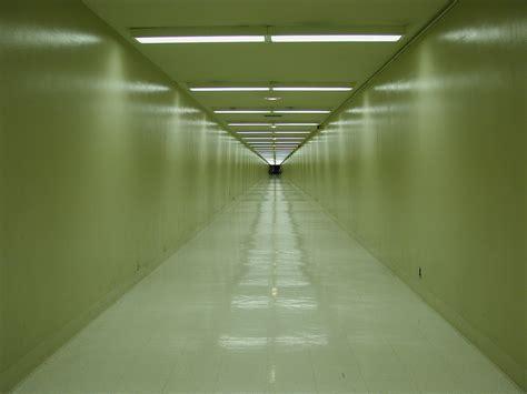 in a hallway hallway