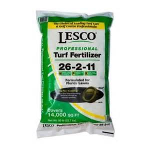 fertilizer at home depot lesco 26 2 11 fertilizer 080221 at the home depot
