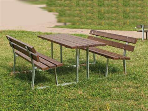 marinelli arredo urbano 206 tavolo pic nic siena standard per parchi e