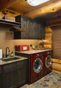 Rustic Laundry Room Decor Prairie Lake Home Rustic Laundry Room Minneapolis By Lake Country Builders