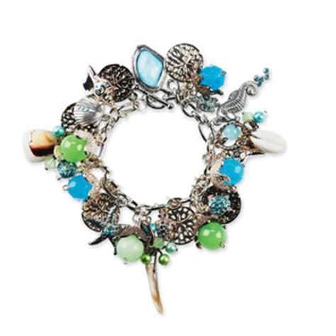 bead landing charms bead landing seascape charm bracelet jewelry diy