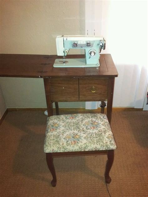 best sewing machine cabinets and tables vintage morse tz7 model knb zig zag sewing machine in