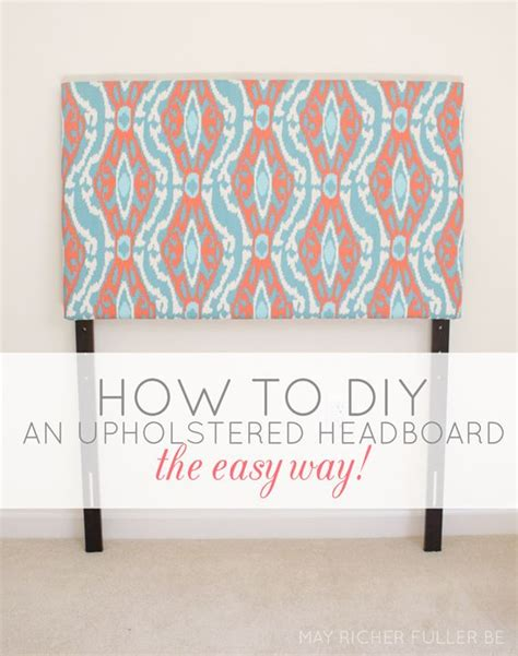 best 25 diy upholstered headboard ideas on