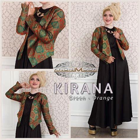 Kirana Syari 4 Warna busana muslim koleksi terbaru baju muslim terbaru gamis