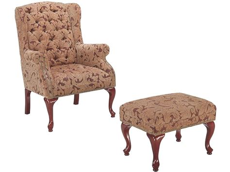 living room chair and ottoman perfect chairs with ottomans for living room homesfeed