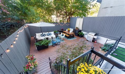 private backyard ideas 1 45m harlem duplex comes with an enormous private