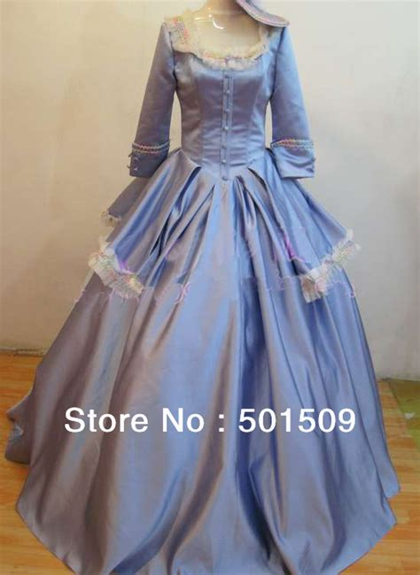 Wst 14394 Blue Flower Dress light blue dress with hat renaissance lace gown