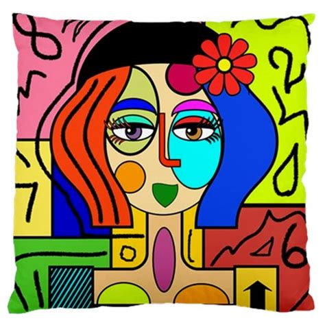what style of did picasso use picasso style multicoloured no 2 sided