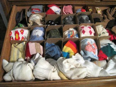 How To Store Socks In Drawers by 17 Best Ideas About Organize Socks On Diy Room