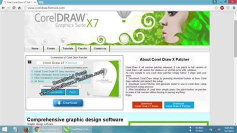 tutorial corel draw download corel draw x7 free download full version