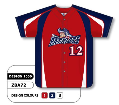design a jersey baseball custom baseball sublimated design 1006 canadian custom