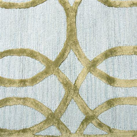 circular trellis wool area rug circular trellis wool area rug in ivory gold 3 x 5