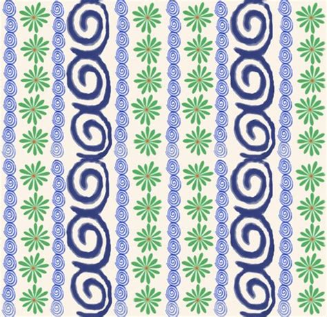 polish_pottery_fabric_2 fabric utreviolet spoonflower