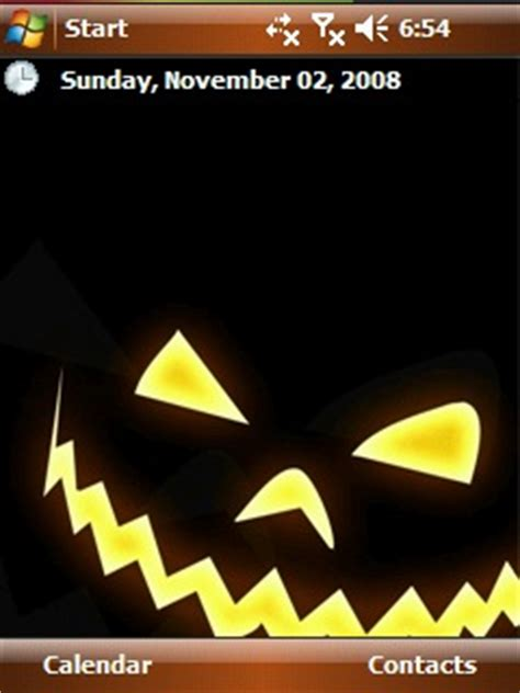 halloween themes for mobile halloween theme freeware for windows mobile phone