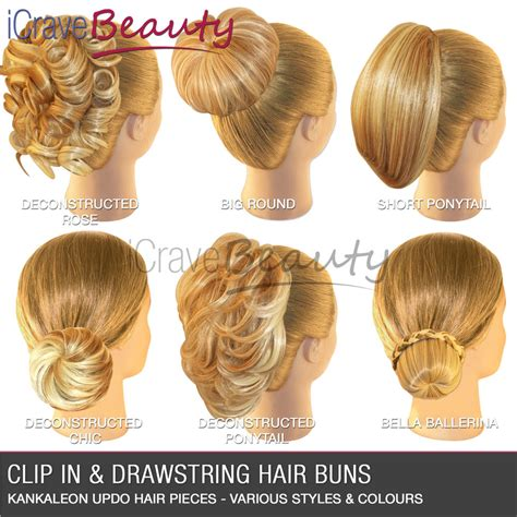 Wedding Clip In Hairpieces by Hair Extensions Hair Clip In Hair Bun Wigs Ponytail