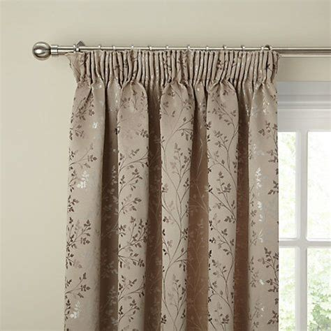 lining curtains instructions buy john lewis botanical field lined pencil pleat curtains