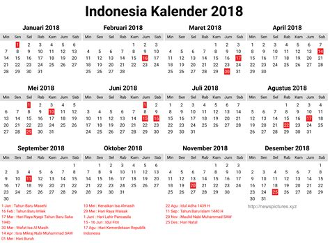 printable calendar 2018 indonesia 2018 calendar indonesia indonesia kalender 2018 12 happy
