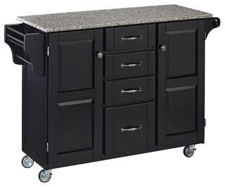 contemporary kitchen carts and islands 35 5 in kitchen cart in black finish contemporary