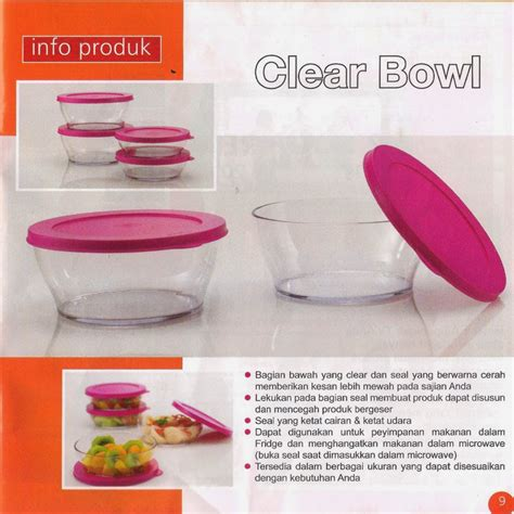 Harga Tupperware Clear Bowl tupperware activity september 2014 tupperware promo bulanan