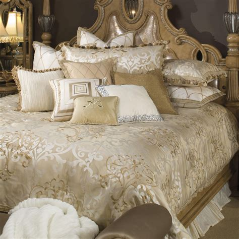 luxury comforter set luxembourg luxury bedding set michael amini bedding