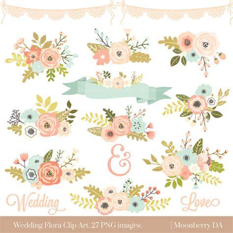 Hochzeit Clipart by Hochzeit Blumen Clipart Floral Cliparts Blumen