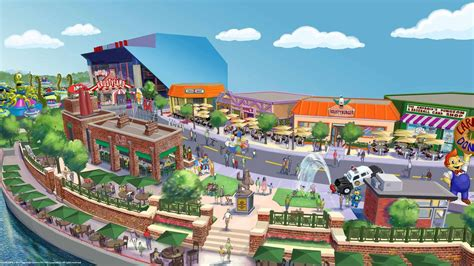 theme park on the simpsons the simpsons theme park coming this summer