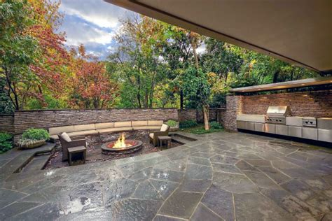 rock garden supper club 70 outdoor fireplace designs for cool pit ideas