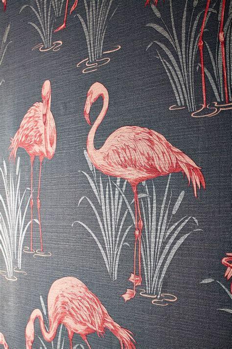 flamingo textured wallpaper 252603 grey coral pink arthouse lagoon flamingo vintage