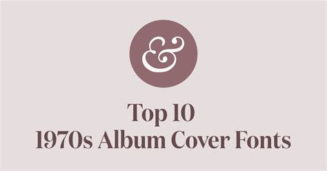 what is the best font for a cover letter top 10 1970s album cover fonts 183 typewolf