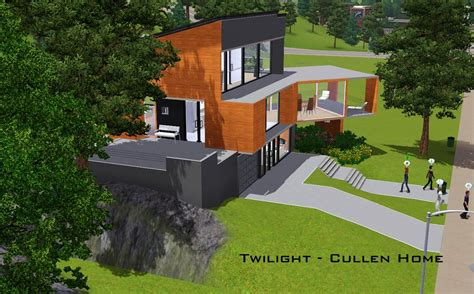 Mod The Sims Twilight The Cullen Home Floor Plan Twilight House