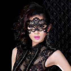 Sexy black fancy dress lace venetian mask masquerade ball prom