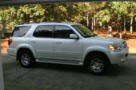 2006 Toyota Sequoia Limited Find Used 2006 Toyota Sequoia Limited Sport Utility 4 Door